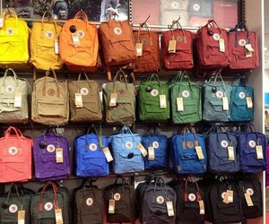 aesthetic, kanken, and backpack image