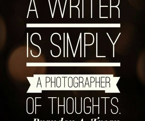 quotes, writer, and photographer image