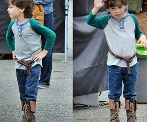 once upon a time, cute, and roland hood image