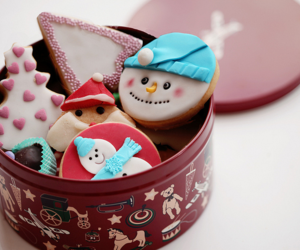 christmas, Cookies, and christmas cookies image