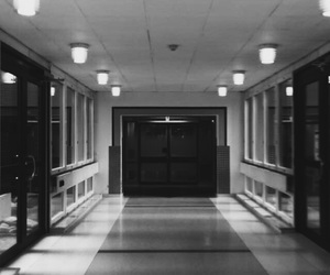 alternative, blood, and corridor image