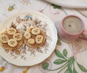 aesthetic, banana, and food image