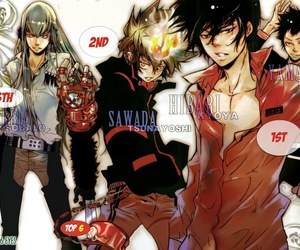 anime, katekyo hitman reborn, and anime boy image