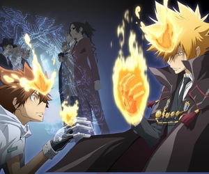 anime, vongola primo, and anime boy image