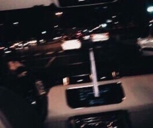 dark, grunge, and car image