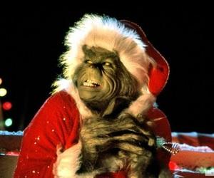 christmas, grinch, and santa image