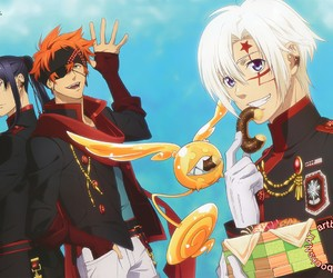 allen walker, lavi, and anime image