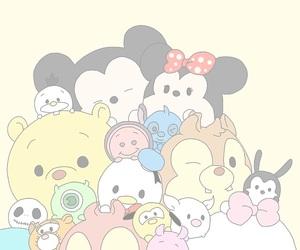 disney, cute, and tsum tsum image