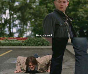 brothers, funny, and spn image