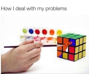funny, problem, and lol image