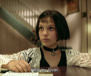 leon, movie, and lover image