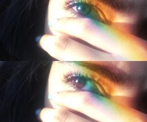 colors, eyelashes, and eyes image