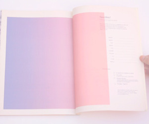 pink, pastel, and book image