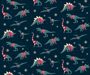 pattern, dinosaur, and background image
