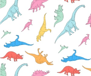 background, colorful, and dinosaur image