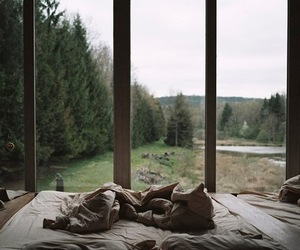 bed, vintage, and home image