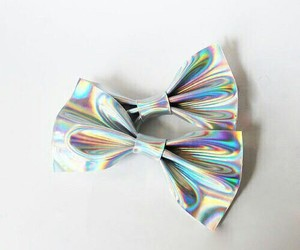 holographic, bow, and hologram image