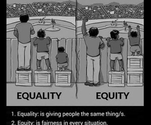 equality, equity, and quotes image