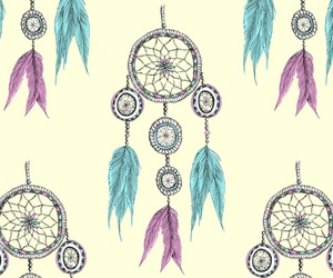 background, colors, and dream catcher image