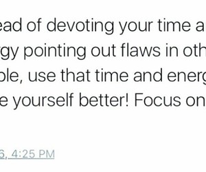 focus, quote, and time image