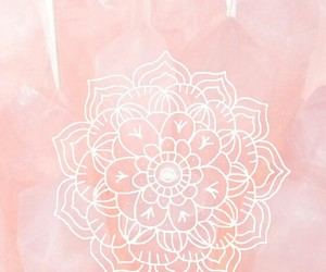 wallpaper, mandala, and pink image