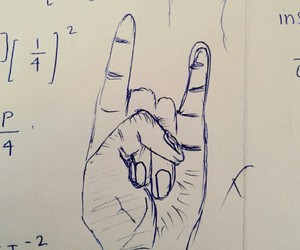 drawing, party rock, and hand image