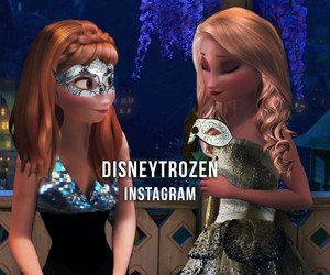 anna, disney, and fashion image