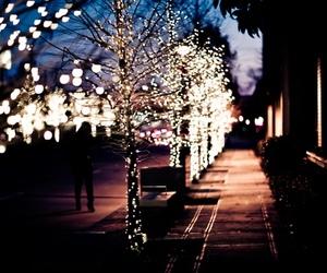 christmas, lights, and photography image