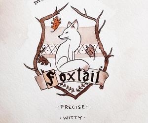 hogwarts, foxtail, and mckenna kaelin image