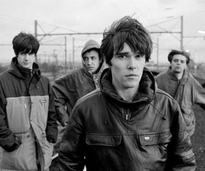 ian brown, the stone roses, and johnny squire image