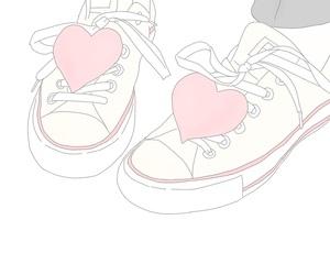 drawing, fashion, and foot image