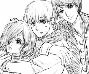 anime, tsukiyama shuu, and shironeki image