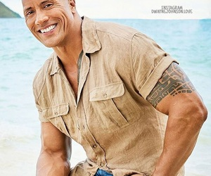 Dwayne Johnson, the rock, and sexiest man alive image