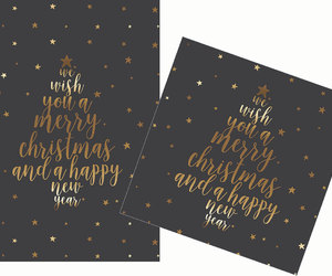 etsy, happy new year, and merry christmas image