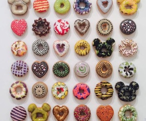 donuts, food, and lovely image