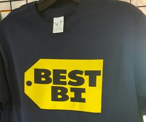 bi, bisexual, and shirt image
