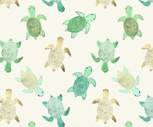 turtle, wallpaper, and pattern image