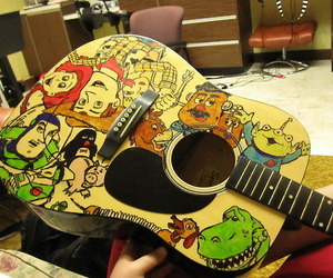 toy story and guitar image