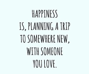 travel, quotes, and love image