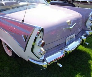 1960, car, and pink image
