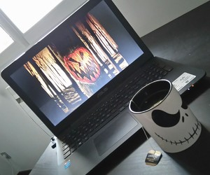 tea time, the nightmare before christmas, and watching movies image