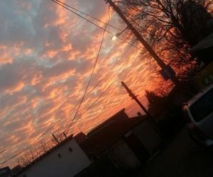 orange, photography, and sky image