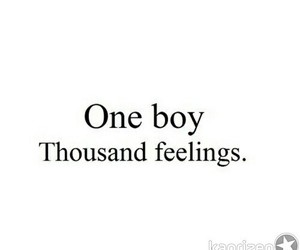 boy, feelings, and quote image