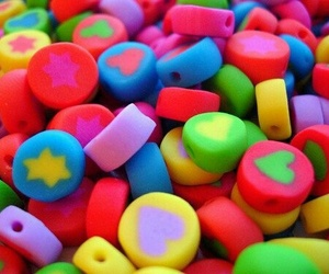 colorful, candy, and stars image