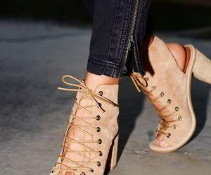 fashion, heels, and minimal image