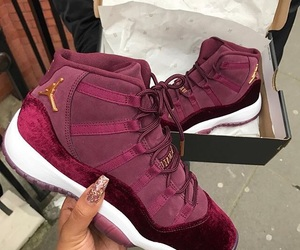 jordan, shoes, and velvet image