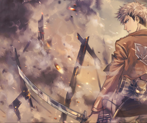 attack on titan, jean, and anime image