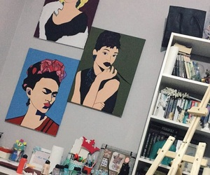 audrey, bedroom, and monroe image