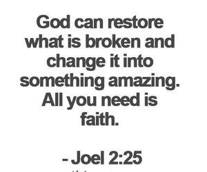 god, amazing, and faith image