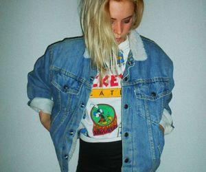 grunge, denim, and hipster image